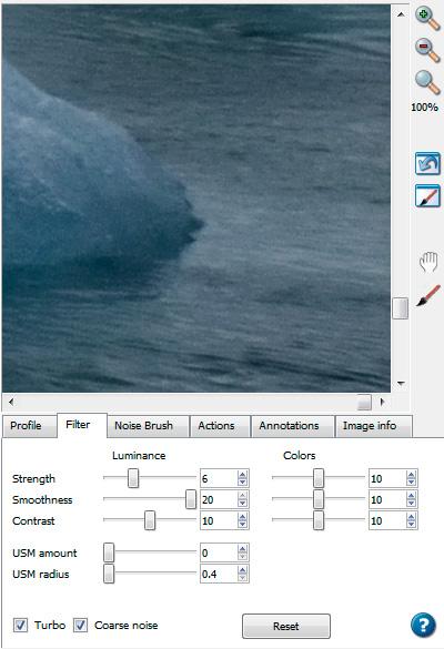 Удаление шума с фотографии на примере Noise Ninja - Пейзаж в кадре