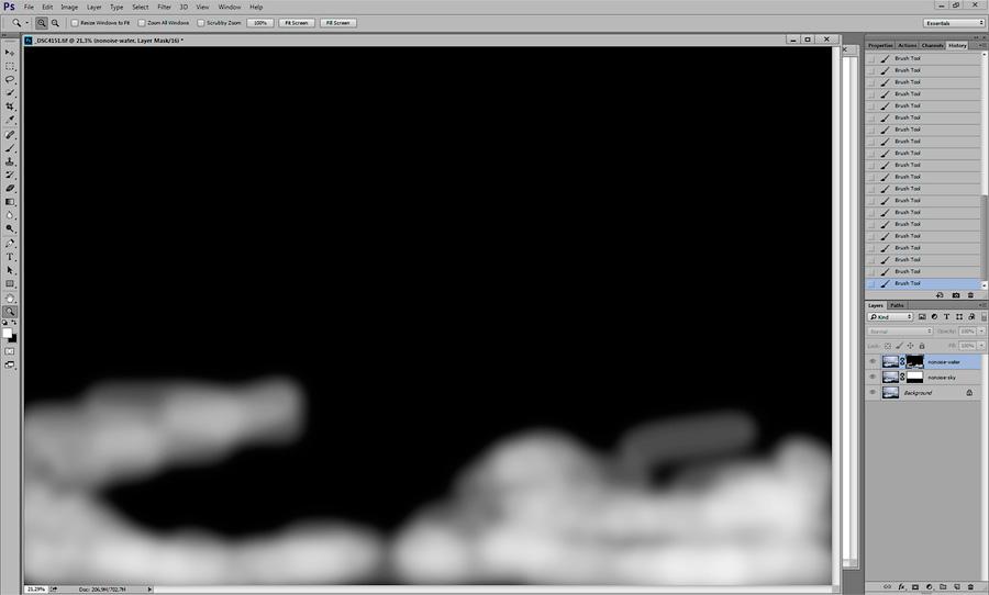 Удаление шума с фотографии на примере Noise Ninja - Пейзаж в