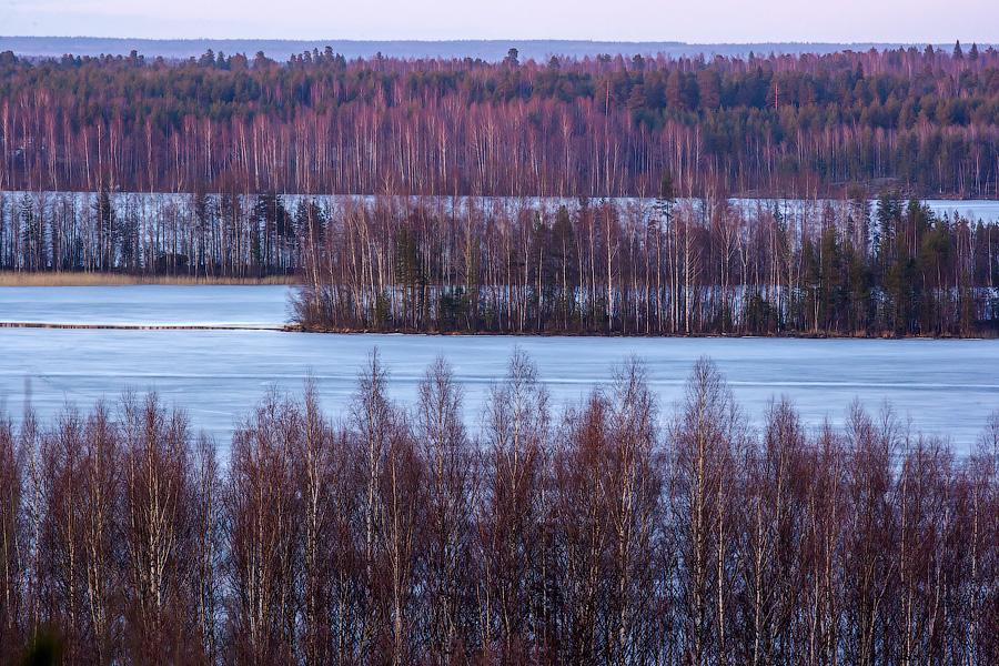 Игорь Подгорный, пейзаж выходного дня
